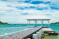 Bridge pier Stock Image