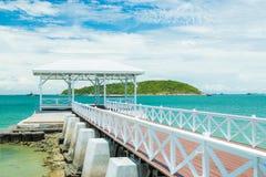 Bridge pier Royalty Free Stock Images