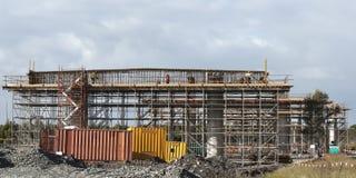 Bridge piers construction Stock Photography