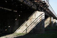 Bridge piers Royalty Free Stock Image