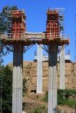 Bridge pillar Royalty Free Stock Photo