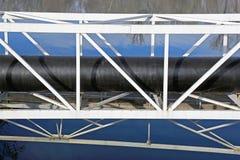 Bridge Pipeline Stock Image