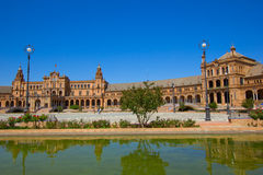 Bridge of  Plaza de Espa?a, Seville, Spain Stock Photo