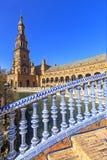 Plaza Espana in Sevilla , Spain. royalty free stock images