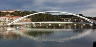 Bridge of Plentzia, Bizkaia Stock Image