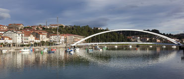 Bridge of Plentzia, Bizkaia Stock Photo