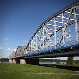 Bridge in Poland Stock Photography