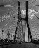 Bridge in Poland stock images