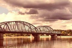 Bridge in Poland Stock Image