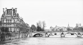 Bridge Pont Royal. Stock Image