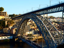 Bridge Ponte de D luis Immagini Stock