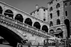 Bridge Ponte di Rialto Photo stock