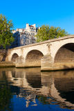 Bridge Ponte Marie, Paris. Royalty Free Stock Photography