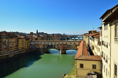 Bridge of Ponte Vecchio Stock Images