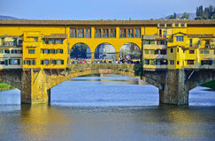 Bridge Ponte Vecchio in Florence, Stock Images