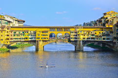 Bridge Ponte Vecchio in Florence Royalty Free Stock Image