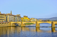 Bridge Ponte Vecchio in Florence Royalty Free Stock Photography