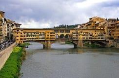 The bridge Ponte Vecchio Florence Royalty Free Stock Photography