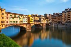 Ponte Vecchio in Florence, Italy. Bridge Ponte Vecchio in Florence, Italy Royalty Free Stock Photo