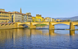 Bridge Ponte Vecchio in Florence, Italy Stock Photo