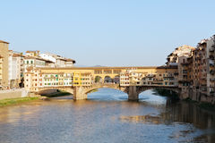 Bridge Ponte Vecchio Stock Photos