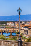 Bridge Ponte Vecchio in Florence - Italy Stock Photos