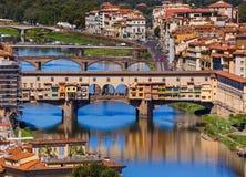 Bridge Ponte Vecchio in Florence - Italy. Architecture background Stock Photo