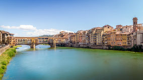 Bridge Ponte Vecchio, Italy Stock Photos