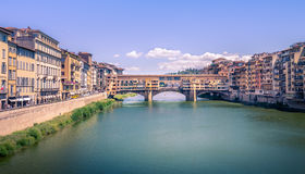 Bridge Ponte Vecchio, Italy Stock Image