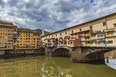 Bridge Ponte Vecchio Stock Images