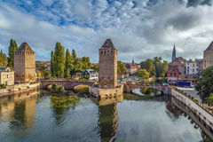 Bridge Ponts Couverts, Strasbourg Royalty Free Stock Photography
