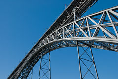 Bridge at Porto Royalty Free Stock Images