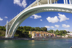Bridge in Porto Royalty Free Stock Photos