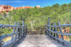 Bridge in Porto Cervo Royalty Free Stock Photography