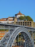Bridge in Porto Stock Images