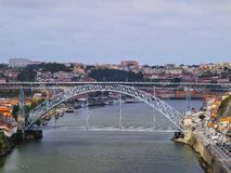 Bridge in Porto Stock Photo