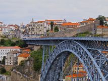 Bridge in Porto Royalty Free Stock Photography