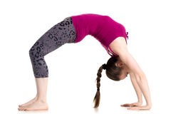 Bridge pose Royalty Free Stock Photo