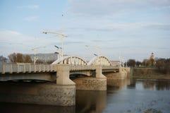 Bridge in Poznan Royalty Free Stock Photos