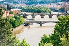bridge Prague Obrazy Stock