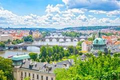 bridge Prague Zdjęcie Royalty Free