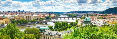 bridge Prague Zdjęcia Royalty Free