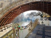Bridge in Prague royalty free stock images