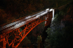 Bridge in Prolom Banja.  Serbia Stock Images