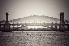 Bridge in Putrajaya Royalty Free Stock Photos