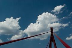 Bridge pylon Royalty Free Stock Photo