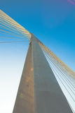 Bridge pylon Royalty Free Stock Photo