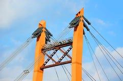 Bridge pylon Royalty Free Stock Images