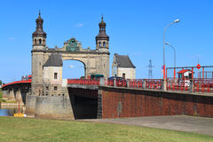The bridge of the queen Louise Royalty Free Stock Photos