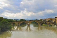 Bridge of the Queen (Puente la Reina) Royalty Free Stock Photo